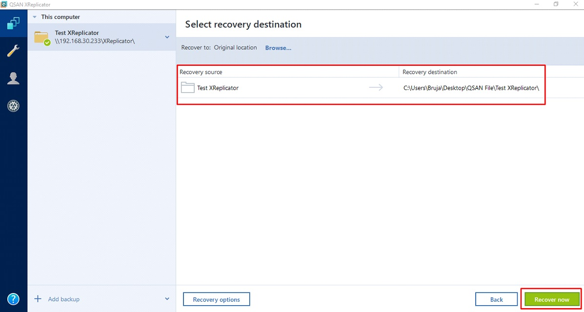 Next jobs Try Delete File &Recovery the File (3)
