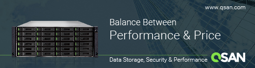 Qsan, balance price-performance banner.
