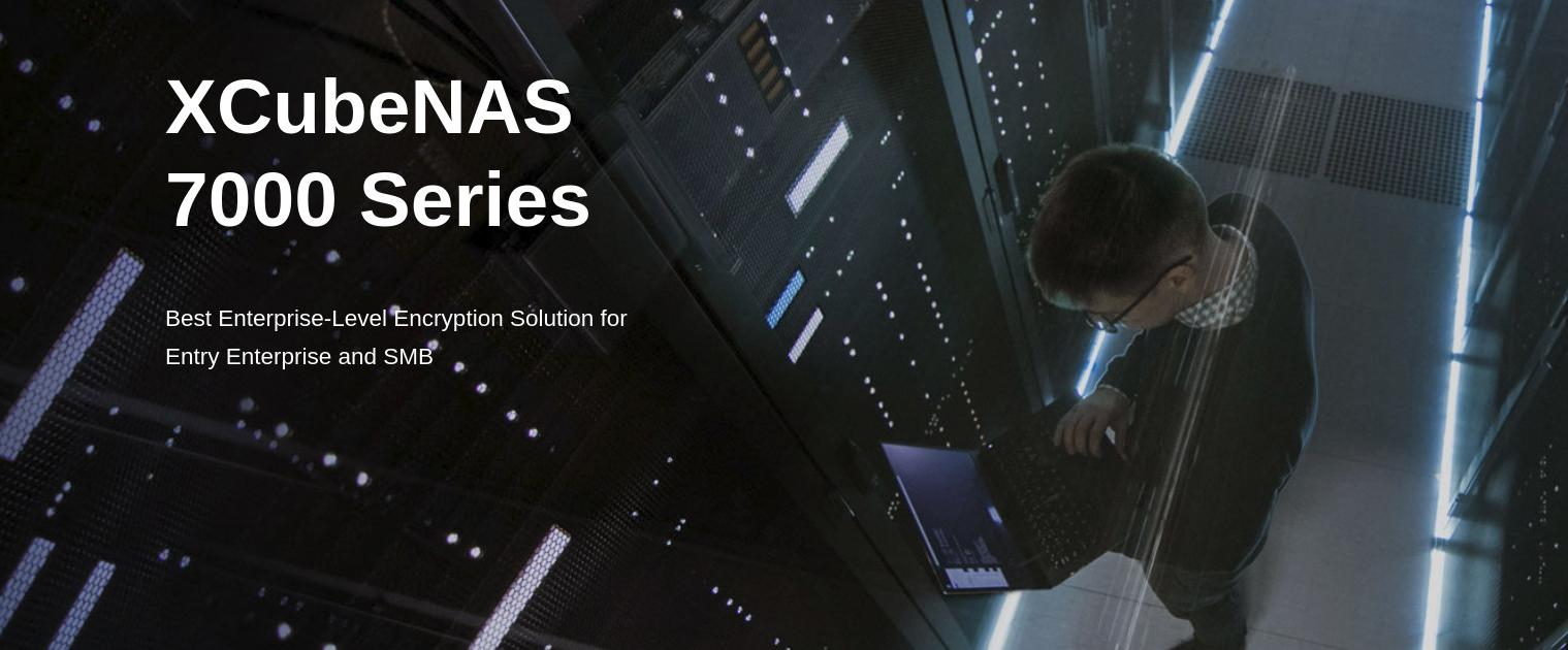 Qsan XCubeNAS 7000 Series, best storage for SMB to Entry Enterprises.