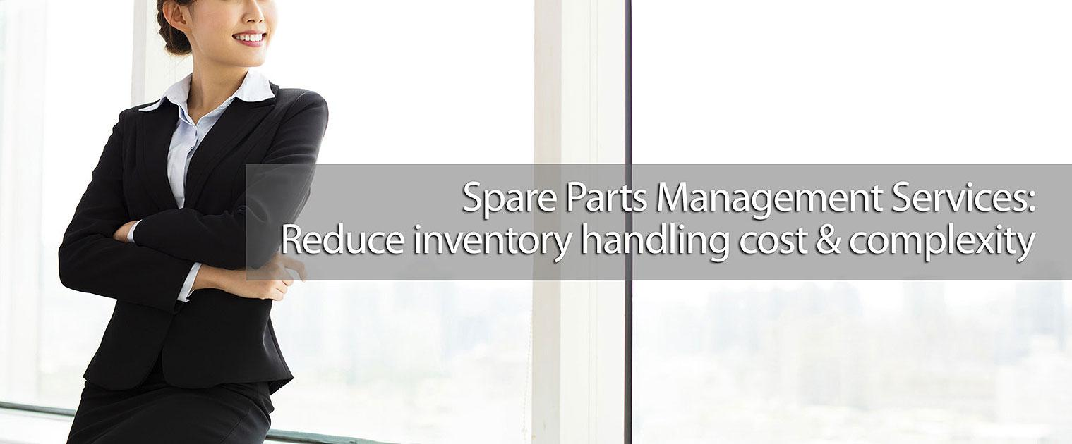 Spare part management services banner