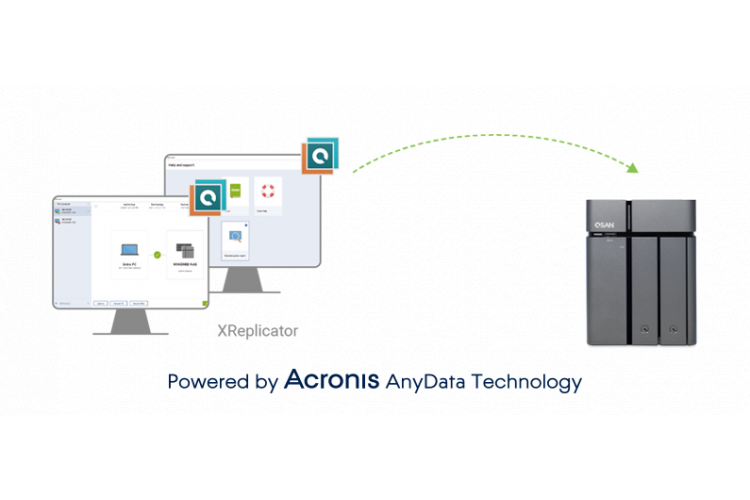 Qsan XReplicator, Powered by Acronis AnyData Technology
