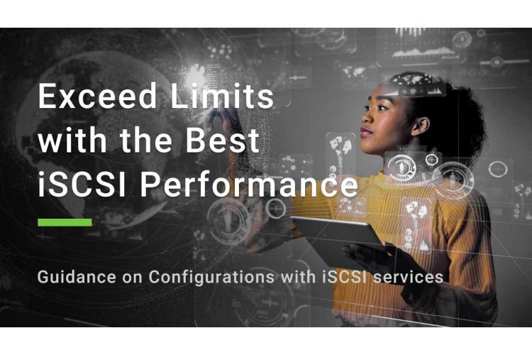 Guide on iSCSI configuration.