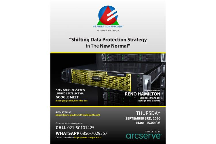 Webinar: Shifting Data Protection Strategy In The New Normal