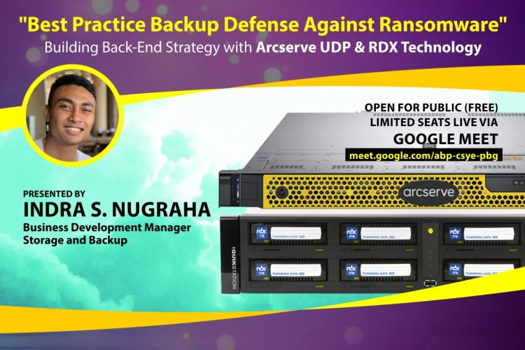 Webinar - Best Practice Backup Defense Strategy Against Ransomware