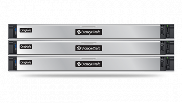 StorageCraft OneXafe 5410, deeply integrated SLA-driven data protection, scale-out storage, and cloud-based recovery.