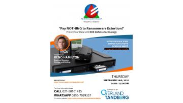 Webinar - Pay NOTHING to Ransomware Extortion!