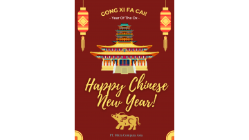 Chinese New Year 2021 card